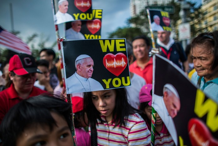 Manila Prepares For The Arrival Of Pope Francis
