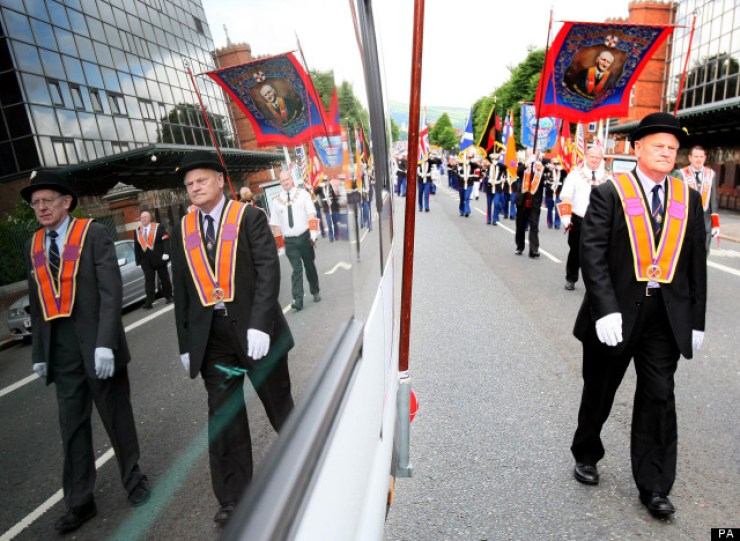 Orange Order marches
