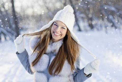 cura na snijegu
