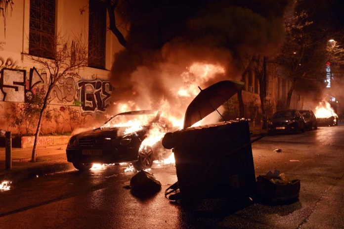 GREECE-POLITICS-DEMONSTRATION