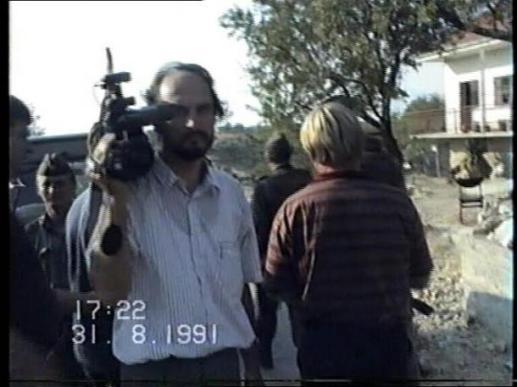 Zoran Erceg s kamerom