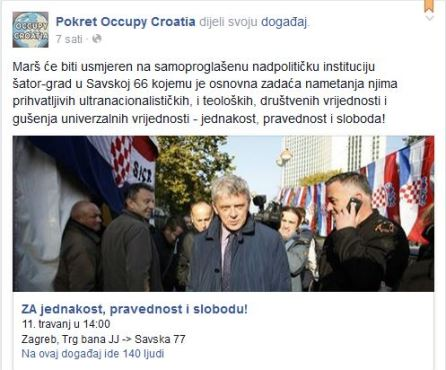 occupy croatia
