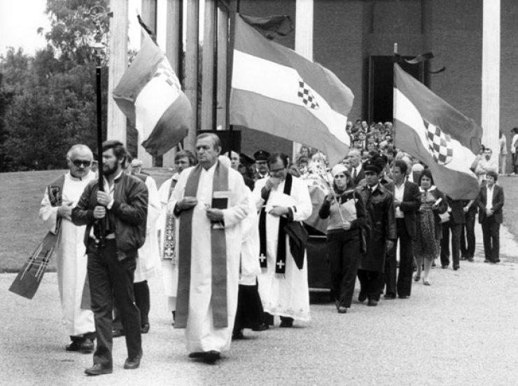 Djurekovic-pogreb