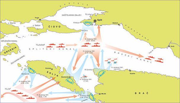 Boj u Splitskom kanalu