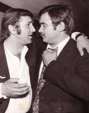 Bata Živojinović i Boris Dvornik