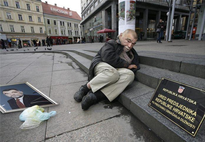 Foto: Bivši predsjednik Republike odsad ureduje na bivšem Trgu Republike (Damjan Tadić/Cropix & La kost)