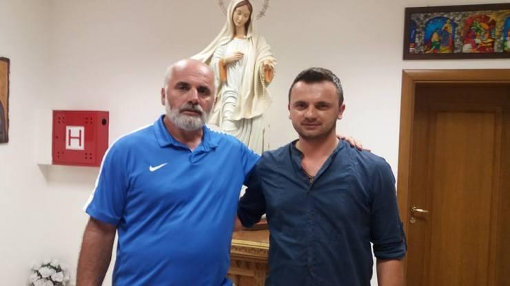 Pater Ike i David Mandić