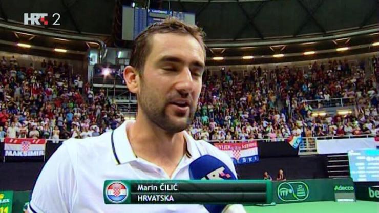- Nadamo se da ćemo igrati finale kod kuće. To bi bio veliki spektakl - kaže Čilić.