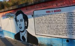 Bruno Bušić - mural