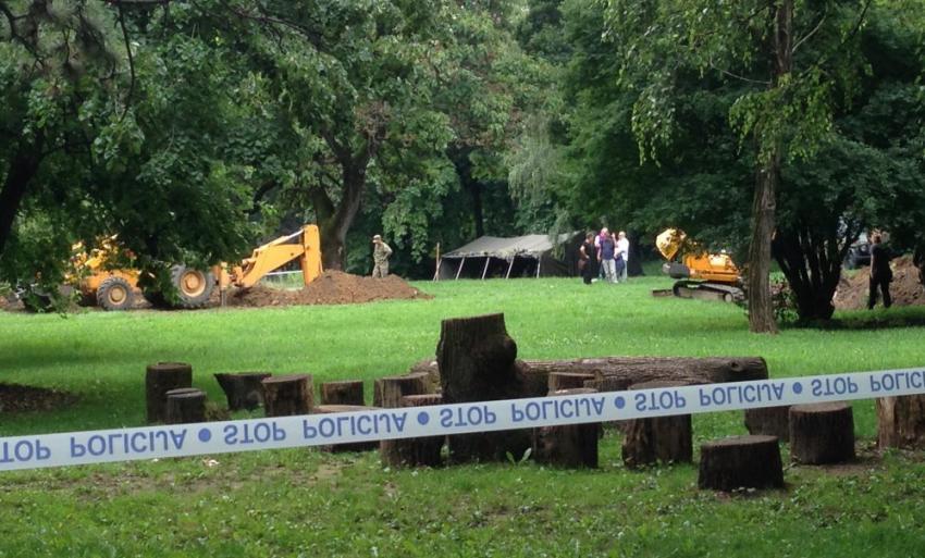 U Negoslavcima kod Vukovara pronađeni posmrtni ostaci jedne osobe