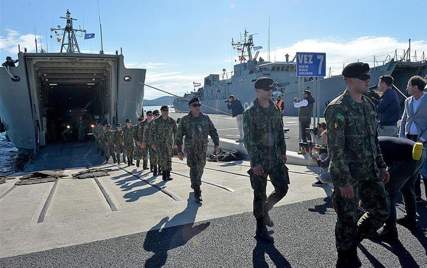 Vježba 'Immediate Response 19': U Zadar stiglo stotinu pripadnika oružanih snaga Albanije i Kosova