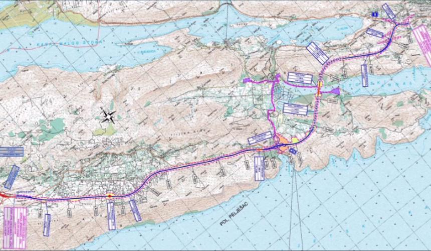 Službeno počela gradnja pristupne ceste za Pelješki most