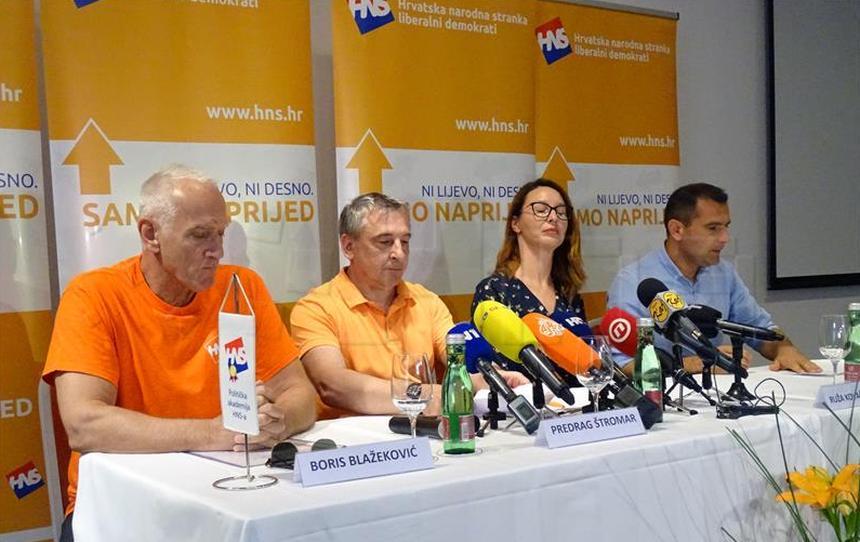 HNS: Očekujemo učinkovitu rekonstrukciju Vlade