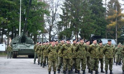 """Dan topništva u vojarni """"Bilogora"""" u Bjelovaru"""