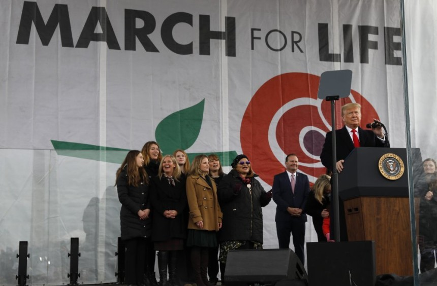 Trump postao prvi predsjednik na američkom Hodu za život