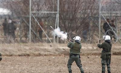 Grčka policija granica