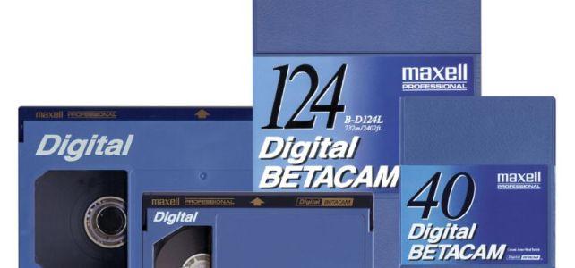 Digital Betacam Kaset – Betacam Aktarma İşlemleri