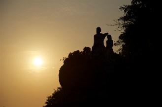 Sunset at Dona Paula, Goa.