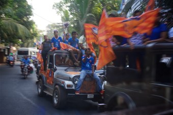 The FC Goa Supporters
