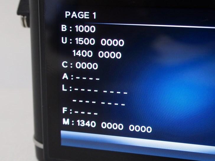 P1010018 カメラ転売仕入れでオリンパスミラーレス一眼Penシャッター回数を調べる方法