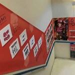 アニメイト池袋本店の『ソードアート・オンライン オルタナティブ ガンゲイル・オンライン』階段広告サイン入りを公開
