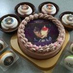 プリロールで購入したコードギアスのケーキが届きました!
