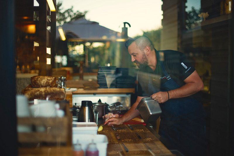 Bertus Basson at KAMERS - Pop-up restaurant in Stellenbosch, 27 Oct - 1 Nov 2015 - Photos Claire Gunn