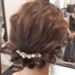 結婚式での髪型