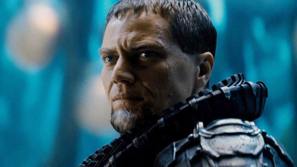 """Michael Shannon jako generał Zod w filmie """"Człowiek ze stali"""""""