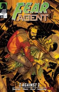 """""""Fear Agent"""" (okładka zeszytu #24)"""