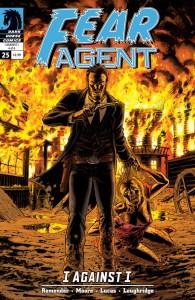 """""""Fear Agent"""" (okładka zeszytu #25)"""