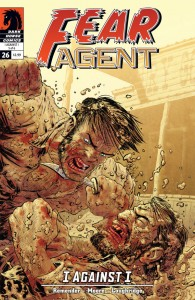 """""""Fear Agent"""" (okładka zeszytu #26)"""
