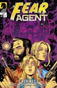 """""""Fear Agent"""" (okładka zeszytu #27)"""
