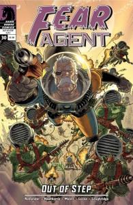 """""""Fear Agent"""" (okładka zeszytu #30)"""