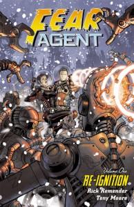 """""""Fear Agent"""" (okładka zeszytu #1)"""