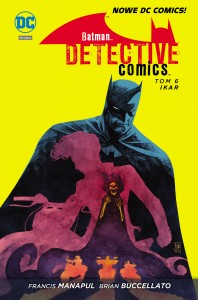 Batman: Detective Comics - Ikar (okładka)