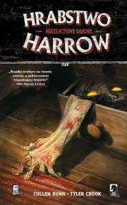 """""""Hrabstwo Harrow. Niezliczone duchy"""" - okładka"""