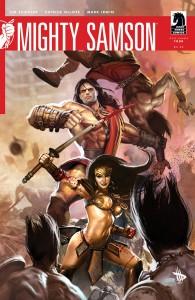 Mighty Samson (2010) #4 - okładka