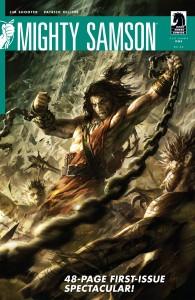 Mighty Samson (2010) #1 - okładka