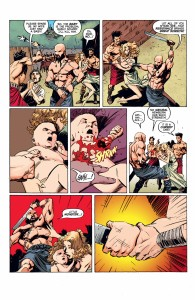 Mighty Samson (2010) #1 - plansza