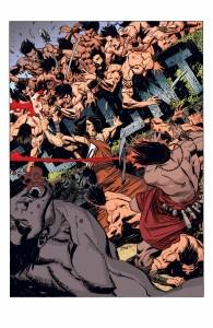Mighty Samson (2010) #1 - planszaa