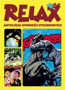 """""""Relax. Antologia opowieści rysunkowych"""" - okładka"""