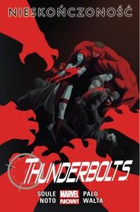 """Thunderbolts. Nieskończoność"" - okładka"