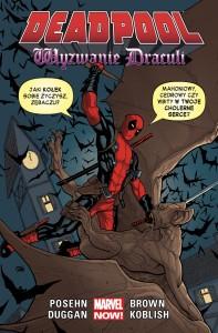 Deadpool: Wyzwanie Draculi - okładka