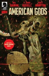 Amerykańscy bogowie - okładka