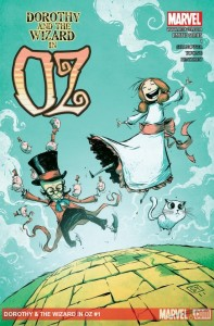 """Dorothy and the Wizard in Oz"" - okładka zeszytu #1"
