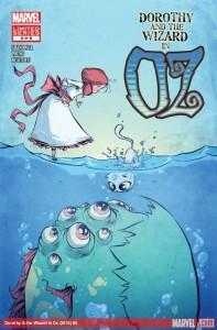 """""""Dorothy and the Wizard in Oz"""" - okładka zeszytu #4"""
