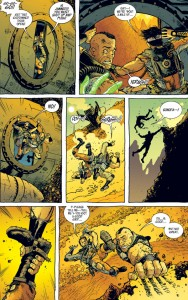 """""""Fear Agent"""" - plansza z komiksu"""