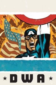 Kapitan Ameryka: Biały - okładka zeszytu