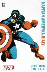 Kapitan Ameryka: Biały - okładka